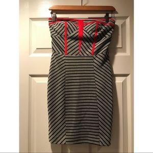 Ark & Co strapless dress